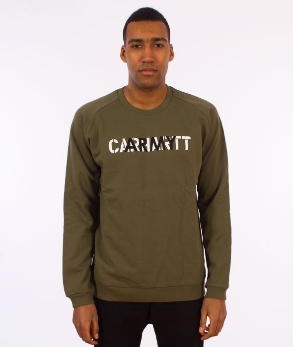 Carhartt-CA Training Sweatshirt Bluza Rover Green/Multicolor