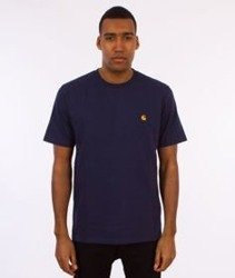 Carhartt-Chase T-Shirt Blue/Gold