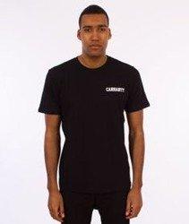 Carhartt WIP-College Script T-Shirt Black/White