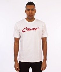 Carhartt WIP-Paint Script T-Shirt White/Chili