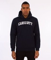 Carhartt-Yale Hooded Sweat Bluza Kaptur Navy/White