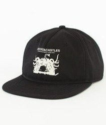 Crooks & Castles-Censored Snapback Czarny