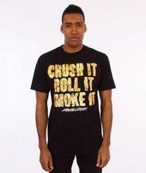Equalizer-Crush It  T-shirt Czarny