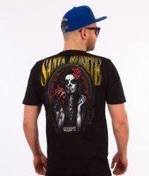 Extreme Hobby-Santa Muerte T-shirt Czarny