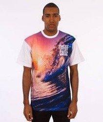 SmokeStory-Full Waves T-Shirt Biały/Multikolor