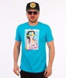 Stoprocent-Sasha T-Shirt Niebieski