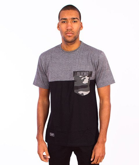 Backyard Cartel-Black Wood T-Shirt Black/Grey