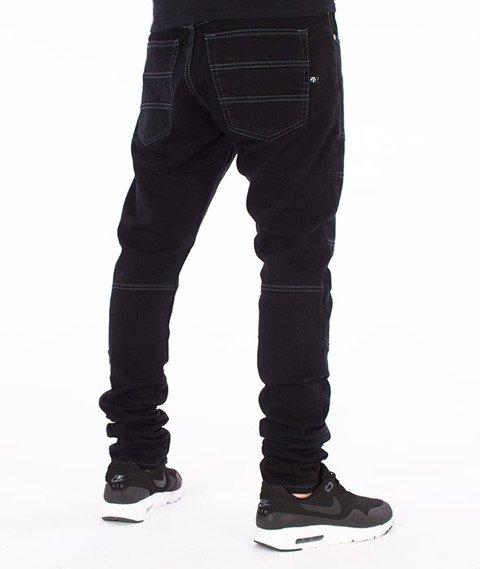 Backyard Cartel-Crust Antyfit Jeans Spodnie Czarne