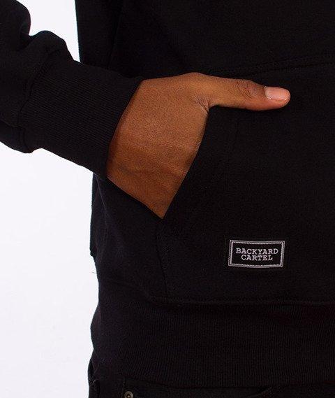 Backyard Cartel-Label Logo Hoody Bluza Kaptur Czarna