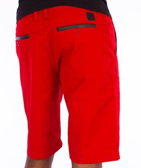 Biuro Ochrony Rapu-Chinos Krótkie Spodnie Czerwone