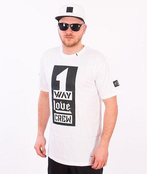 Biuro Ochrony Rapu-One Love T-shirt Biały