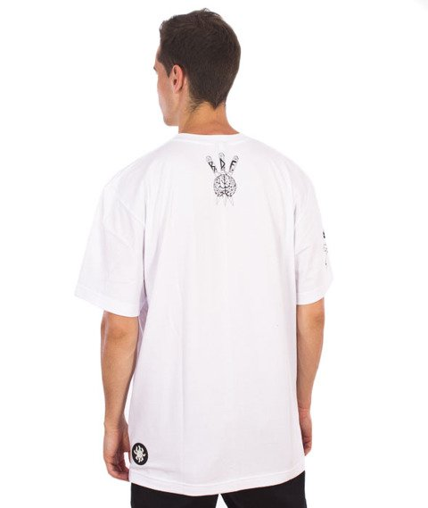 Brain Dead Familia-Clown T-shirt Biały
