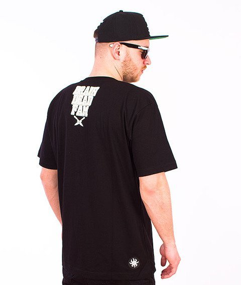 Brain Dead Familia-Graffiti T-shirt Czarny/Toxic