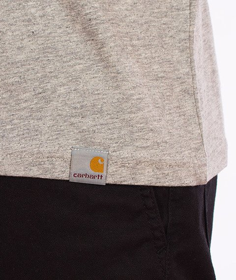 Carhartt-Bill C T-Shirt Grey Heather