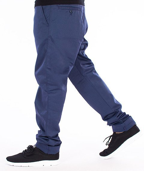 Carhartt-Dander Pants Spodnie Blue Penny Rigid Tapered Leg L32