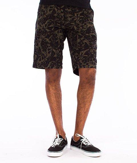 Carhartt-Johnson Krótkie Spodnie Trekking Green/Black Lotus Print