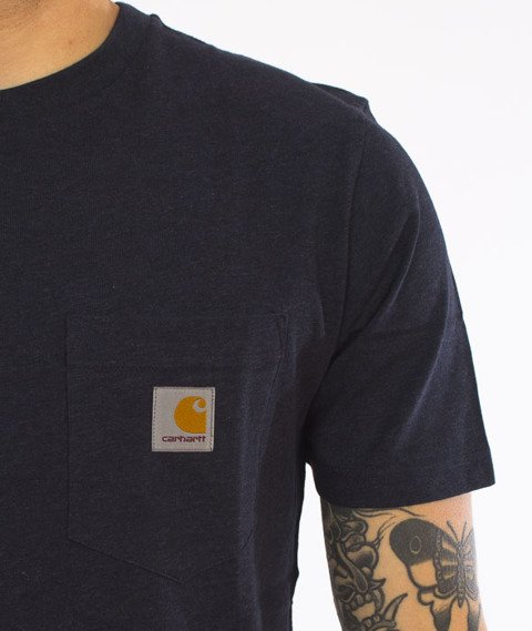 Carhartt-Pocket T-Shirt Navy Heather