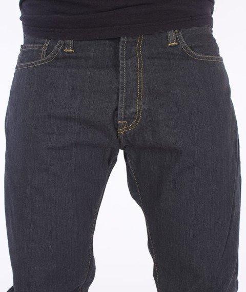 Carhartt WIP-Klondike Pant Cotton Grafton Grey Rinsed
