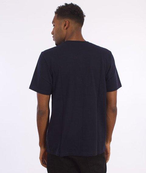 Carhartt WIP-State Logo T-Shirt Navy/Navy