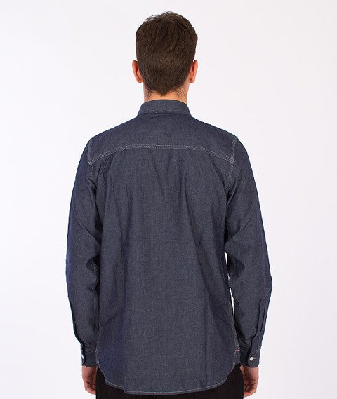 Carhartt WIP-State Shirt Blue Rinsed