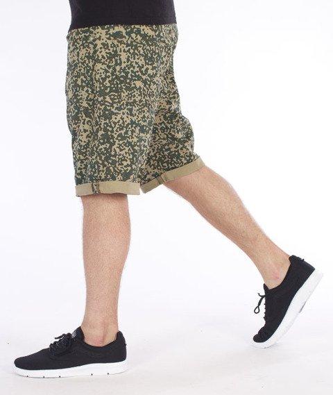 Carhartt WIP-Swell Krótkie Spodnie Camo Stain/Leaf Rigid