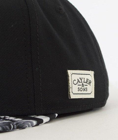Cayler & Sons-99 FCKN Problems Classic Cap Snapback Black/White