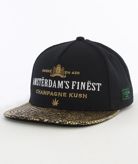 Cayler & Sons-A Dam's Finest Cap Snapback Black/Gold/White
