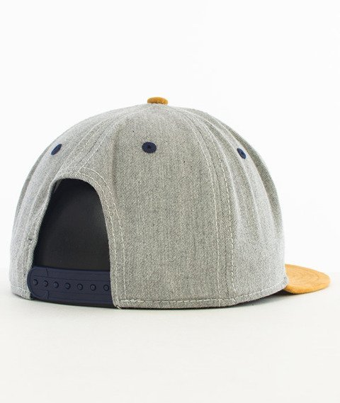 Cayler & Sons-BLV Snapback Grey/Desert/Multicolor