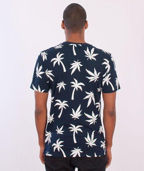 Cayler & Sons-Beach Budz T-shirt Navy/White