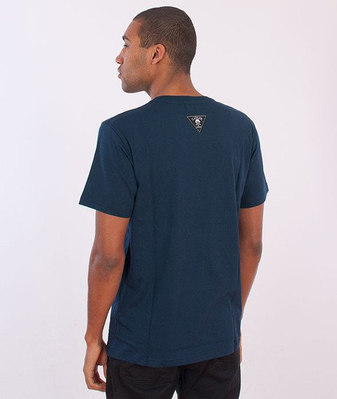 Cayler & Sons-Crew Strong T-shirt Navy/Gold/White