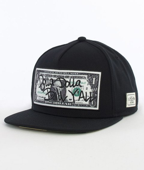 Cayler & Sons-Dolla Dolla Cap Snapback Black/Yellow/Woodland