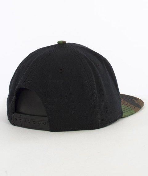 Cayler & Sons-Garage Cap Snapback Black/Woodland/Olive