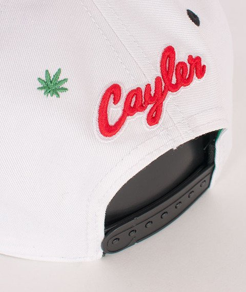 Cayler & Sons-Le Frog Cap White/Black