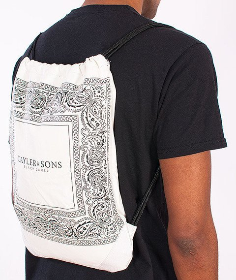 Cayler & Sons-Paiz Gym Bag White/Black