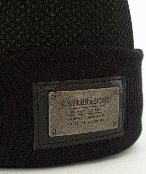 Cayler & Sons-Plated Old School Beanie Czapka Zimowa Black/Olive