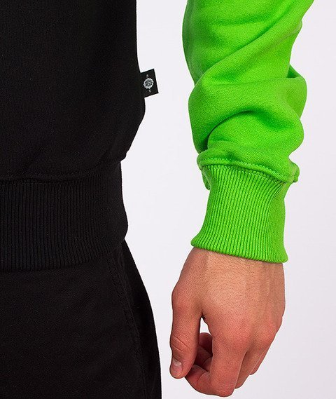 Chada-Palę Bluza Czarna/Zielona