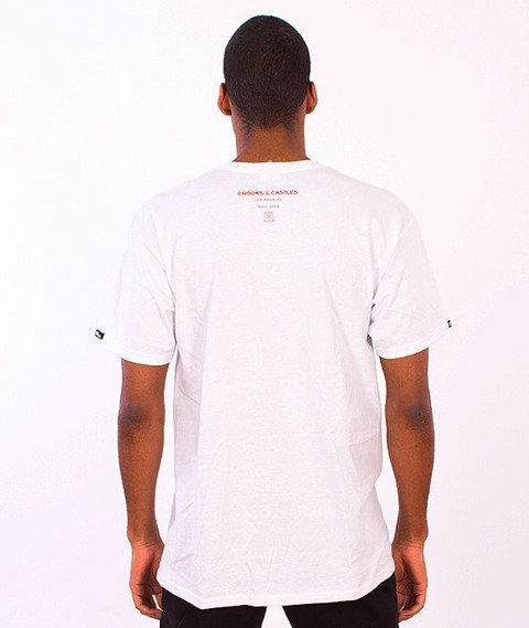 Crooks & Castles-Gorgon Medusa T-Shirt White