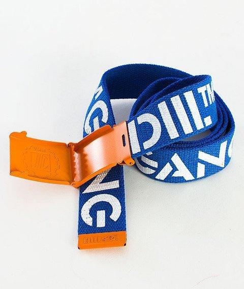 DIIL-Premium Pasek Niebieski/Pomarańczowy