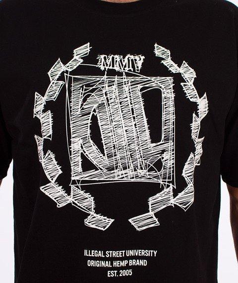 DIIL-Sketch T-Shirt Czarny