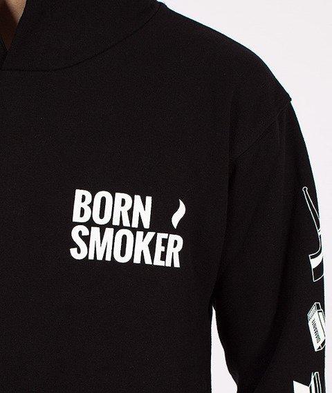 Diamante-Born Smoker Kaptur Czarny