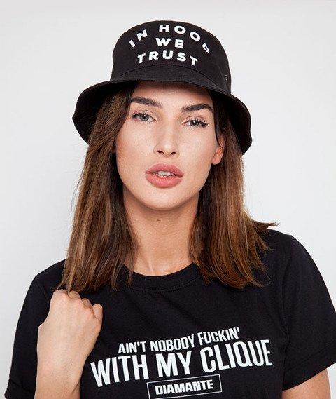 Diamante Chicks-In Hood We Trust Bucket Hat Black