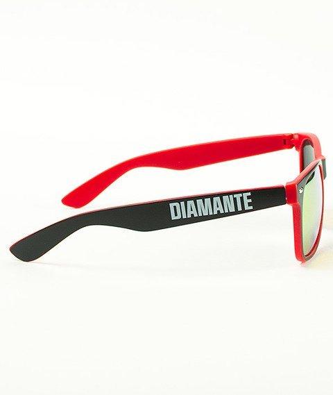 Diamante-Diamante 3 Okulary Czerwone