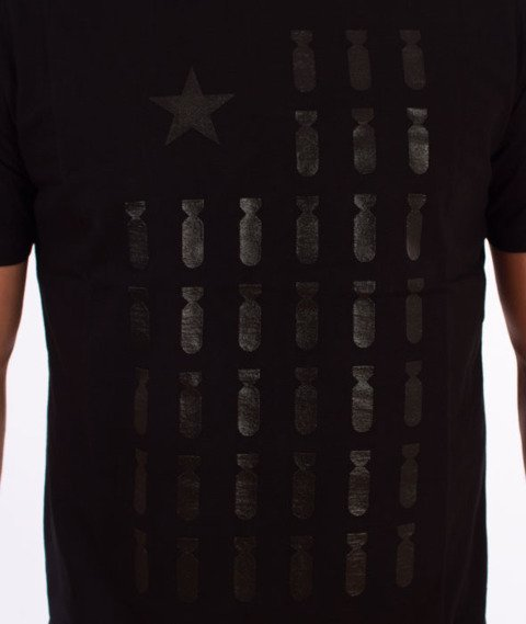 Diamante-Flag 01 T-Shirt Czarny