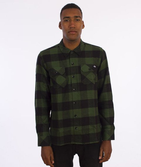 Dickies-Sacramento Shirt Koszula Pine Green