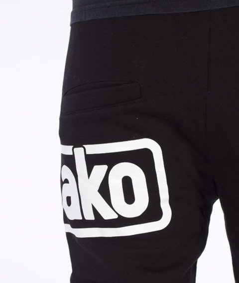 El Polako-Below Fit Spodnie Dresowe Czarne