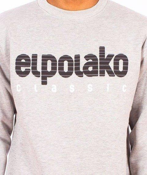El Polako-Classic Bluza Szara