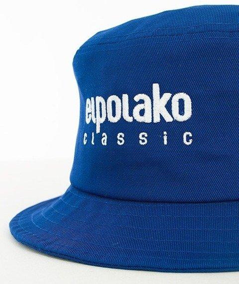 El Polako-Classic Bucket Hat Niebieski
