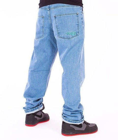 El Polako-Classic Regular Jeans Light Blue