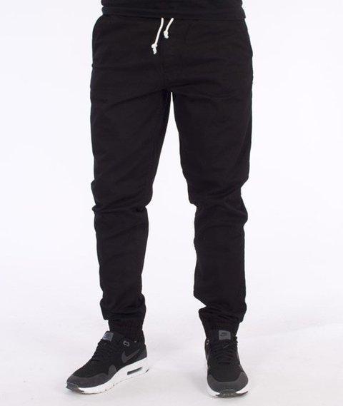 El Polako-Classic Slim Jogger Spodnie Czarne
