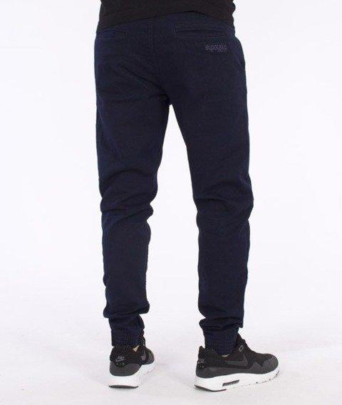 El Polako-Classic Slim Jogger Spodnie Granatowe